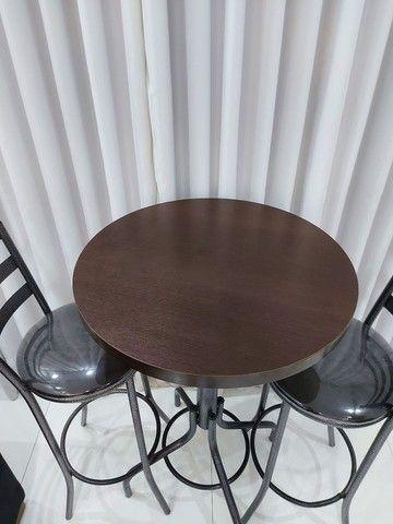 Mesa Bistro + duas Cadeiras  - Foto 3