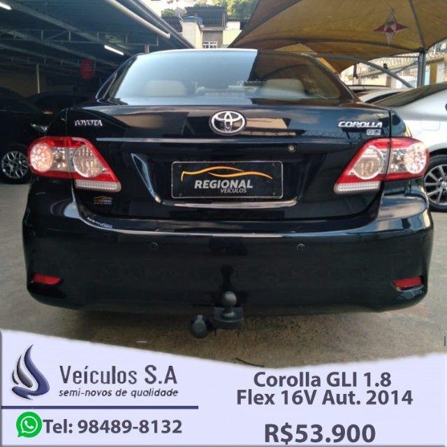 Corolla GLI 1.8 Flex 16V Aut. 2014 - Foto 4