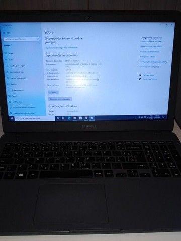 Notebook Samsung Essentials E20 4 Gb de Ram E 500 Gb HD