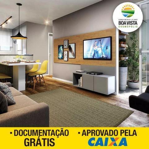 Boa Vista Aptos 2 Dorms 47m2 c/Varanda 1 Vaga,Lazer Completo,Ponto de Ar Condicionado - Foto 18