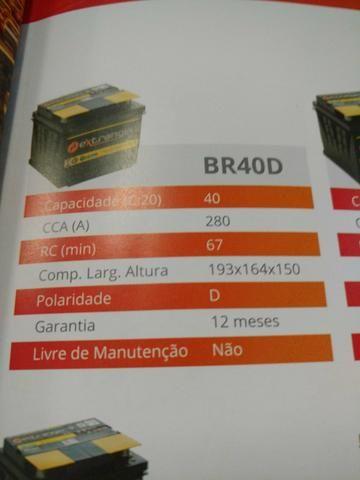 Bateria extranger 40 amperes 139,00 - Foto 2