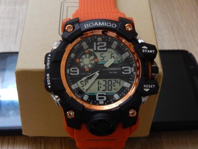 f539f38dd45 Relógio Masculino Digital Esportivo Militar Tipo G-Shock ...