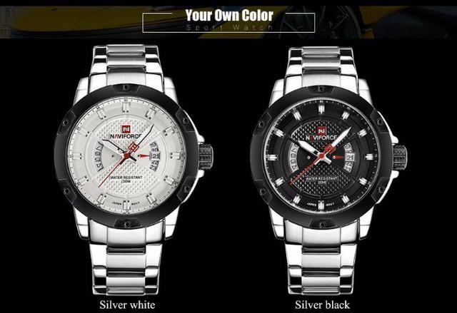 b9959dec5dc Relógio Masculino Naviforce 9085 - Original - Pronta entrega - Novo - Foto 2