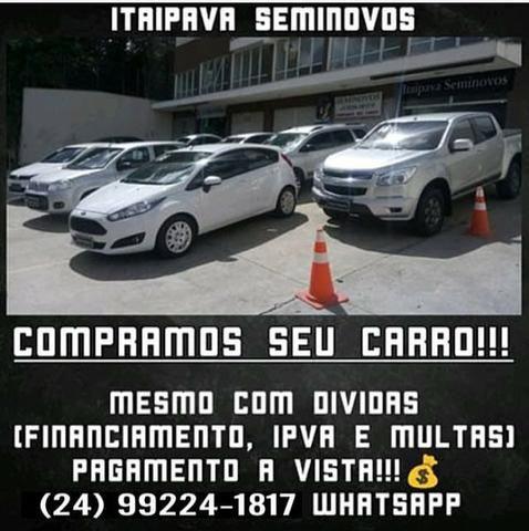 Fiesta 2014 SE 1.6 Hatch completo 2019 vistoriado - Foto 6