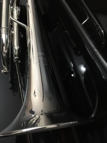 Trompete Yamaha Custon Prata - Foto 6