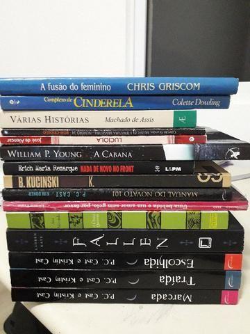 Livros- R$5,00