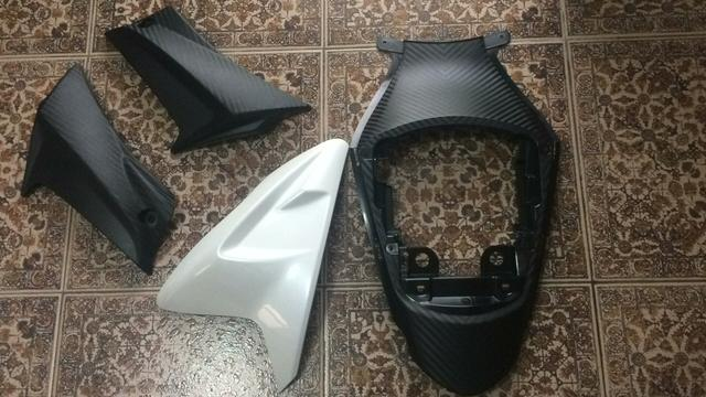 Suzuki gsxr 750 kit carenagem - Foto 5