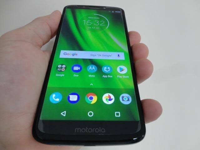 Moto g6 play indico 32gb biometria e facial