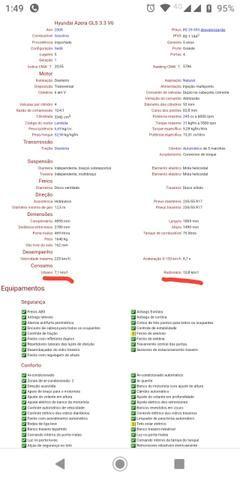 Azera GLS 3.3 V6 Aut. 245cv - Foto 20