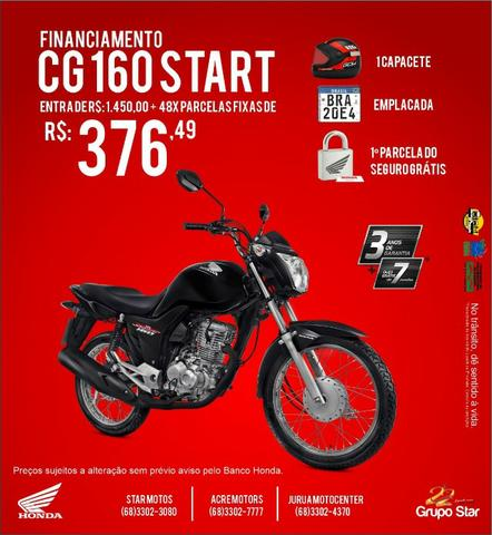 Motos Honda CG 160 Start - Foto 2