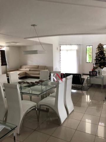 Casa com 3 suítes, DCE, 370 m² por R$ 1.100.000 - Altiplano - João Pessoa/PB - Foto 9