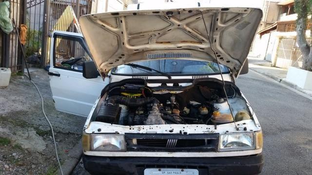 Fiorino 2001 motor fiasa 1.5 gasolina/gnv - Foto 10