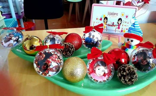 Bola de Natal personalizada Largo da Batalha - Foto 4