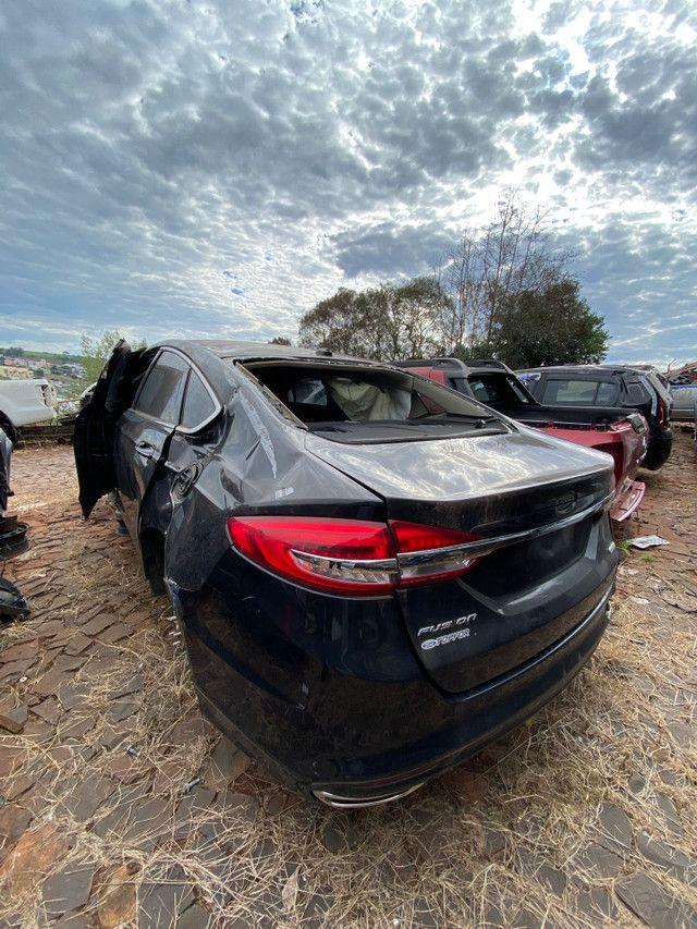 Sucata para retirada de peças- Ford Fusion Titanium 2019