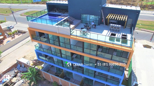 2 Quartos | 31m² | Flats em Porto de Galinhas | Pernambuco - Foto 2