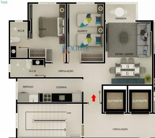 Apartamento à venda com 2 dormitórios em Pedro gondim, João pessoa cod:22848-11489 - Foto 8