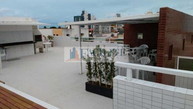 Apartamento à venda com 2 dormitórios em Manaíra, João pessoa cod:22040 - Foto 5