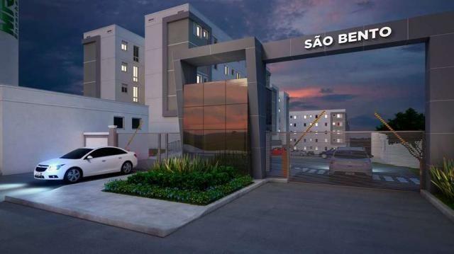 São Bento - Apartamento 2 quartos em Poá, SP - 44m² - ID3919 - Foto 2