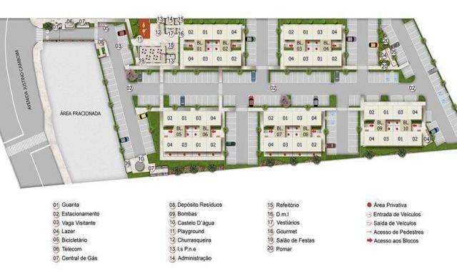 Parque Porto Santa Fé - Apartamento de 2 quartos em Sapucaia do Sul, RS - ID3762 - Foto 7