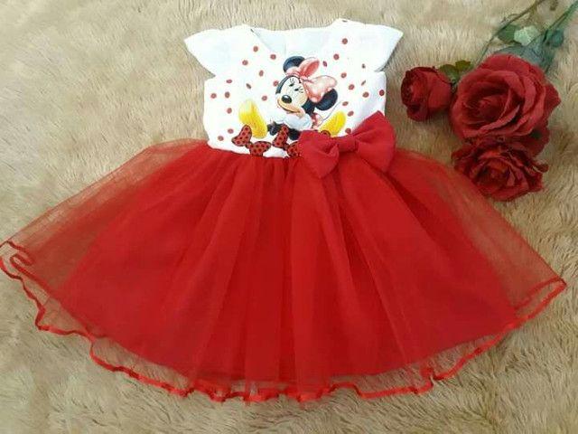 Vestido Minnie tamanho 3