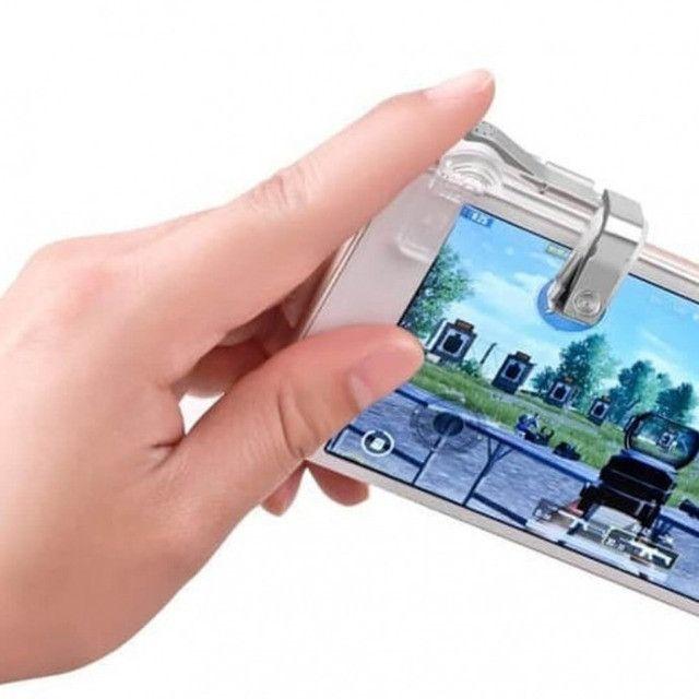 Gamepad Gatilho L1 R1 para celular-Free Fire,PUBG e outros - Foto 4