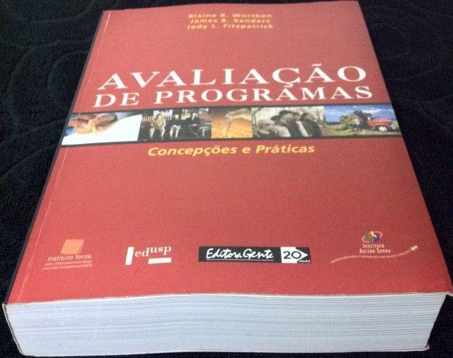 Livro Avaliação de Programas - Concepções e Práticas - Foto 6