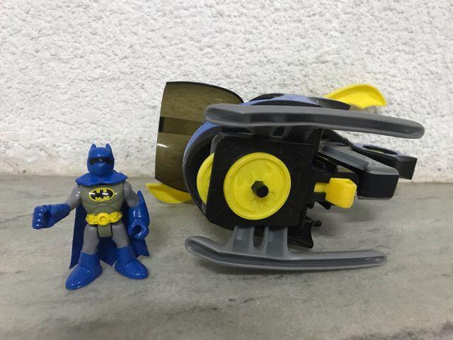 Helicóptero do batman Imaginext DC comics  - Foto 5