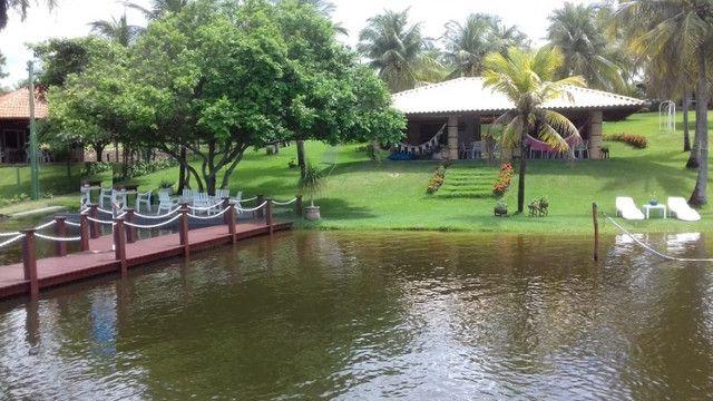 Casa na Lagoa do Uruaú, 17.500m² de área total, condomínio fechado, piscina - Foto 14
