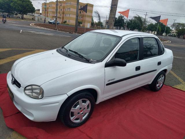 Corsa sedan Spirit 1.0 2005 novíssimo Ac/tr. - Foto 8