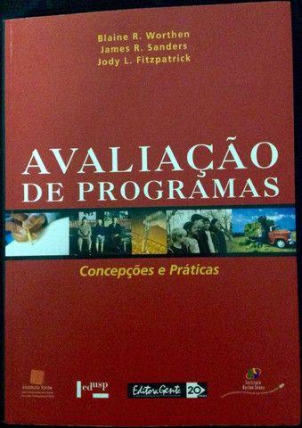 Livro Avaliação de Programas - Concepções e Práticas