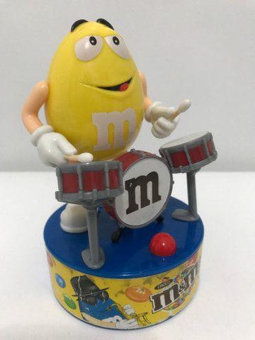 Baterista e guitarrista M&M?s musical colecionável