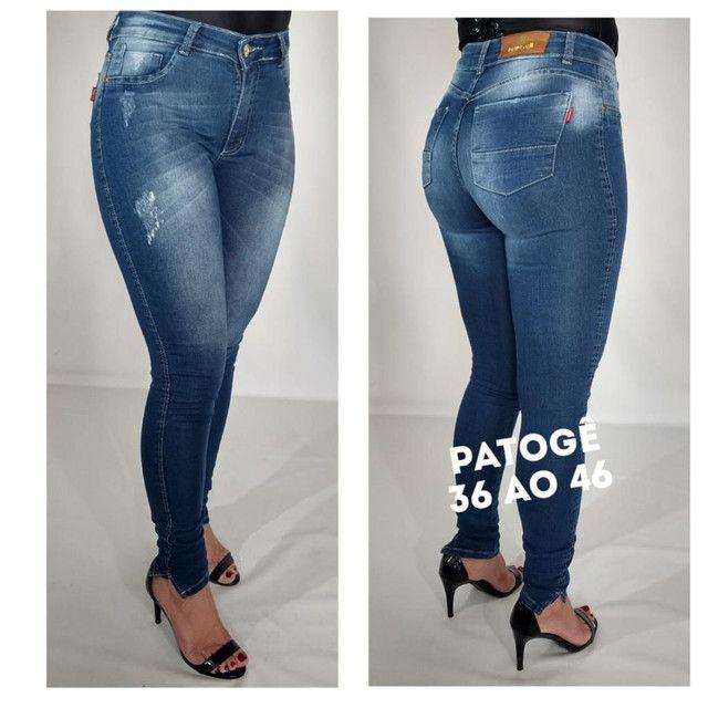 Atacado Calças Jeans feminina  - Foto 3