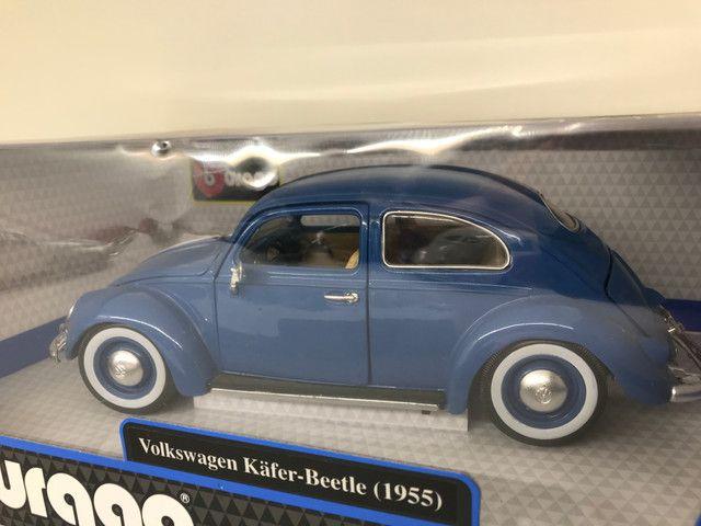 Miniatura Fusca Kafer Beetle Burago 1 18 - Foto 6