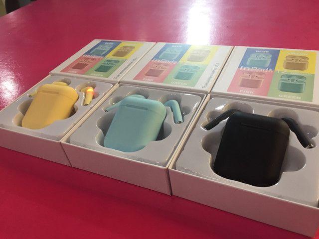Fones i12 colorido iphone - Foto 3