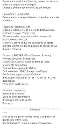 Barraca 4 lugares  - Foto 5