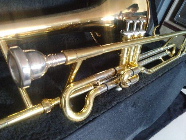 Trombone de Pisto P. Weingrill Edição Especial 100 Anos - Raridade - Foto 2
