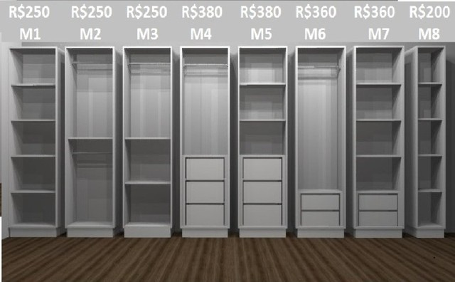 Seu closet pronto em 7 dias com economia de 70% - Foto 6