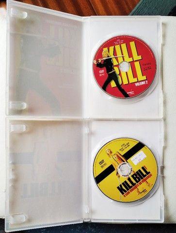 Dvd Kill Bill Volume 1 E 2 Com Selo De Locadora - Foto 4