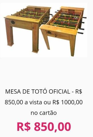 Mesa de Totó/ Mesa de Pebolim oficial