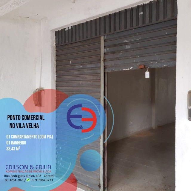 Ponto comercial na Vila Velha
