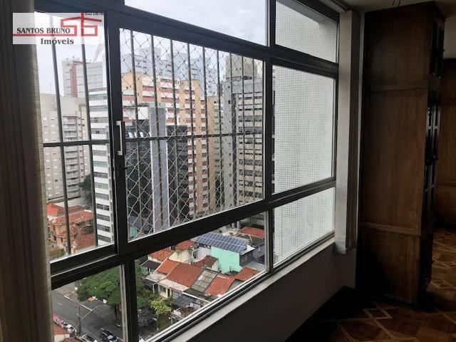 Cobertura 300 m² 4 dorm, sendo 1 empregada, 1 suíte, 3 salas, cozinha e 2 vagas para aluga - Foto 20
