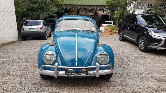 Fusca 1966 azul - Foto 9