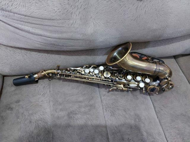 Sax Soprano Curvo Waldmam - Foto 2
