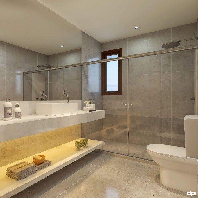 CRS Luxuosa Casa 5 Suítes 3 pavimentos 4 Vagas Condomínio no Poço 258 M² Alto Padrão - Foto 3