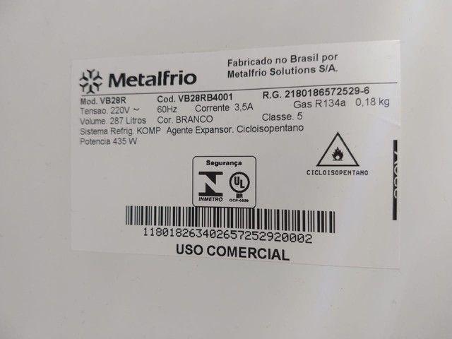 Refrigerador Expositor MetalFrio - VB28R - voltagem 220 - Foto 6