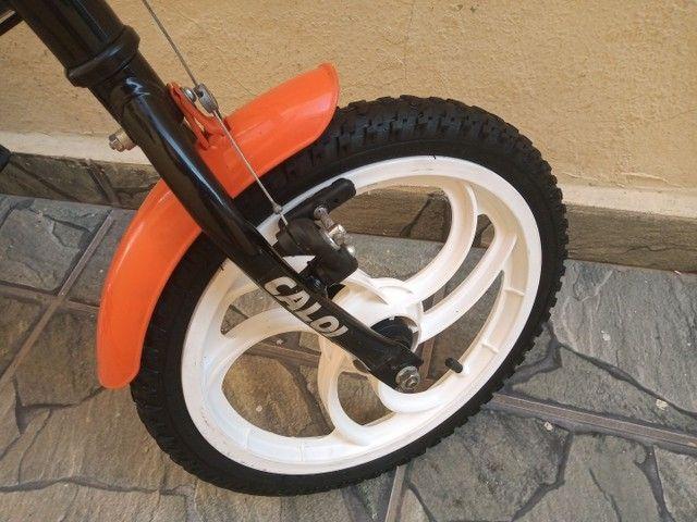 Bicicleta Caloi Hot Wheels aro 16 - Foto 5
