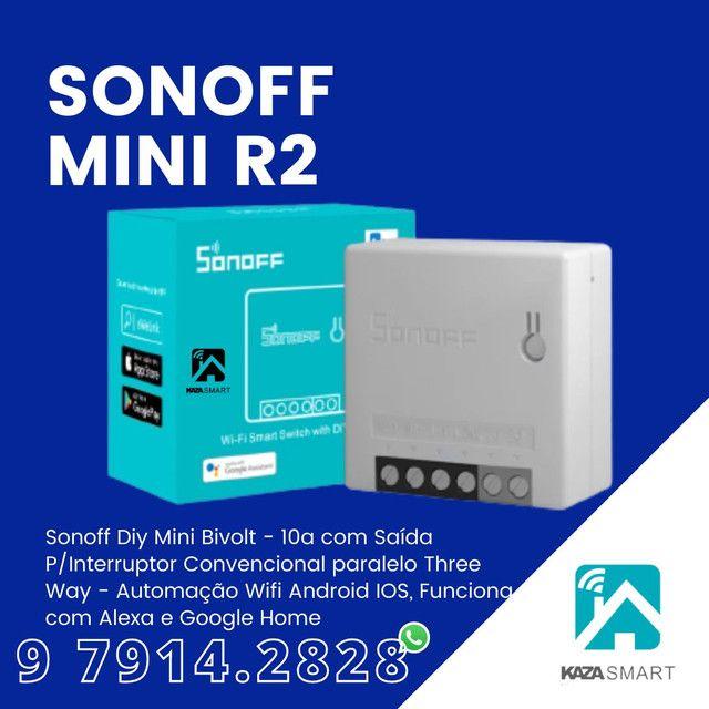 SONOFF MINI NOVO MODELO R2