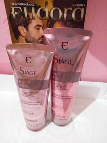 Shampoo e condicionado siáge Eudora  - Foto 2