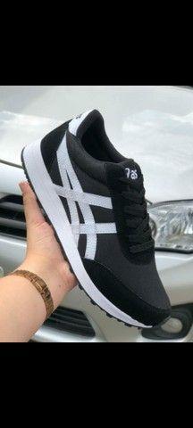 Vendo sapatênis Adidas e tênis Asics ( 110 com entrega) - Foto 6