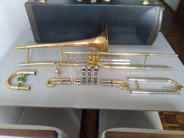 Trombone de Pisto P. Weingrill Edição Especial 100 Anos - Raridade - Foto 4